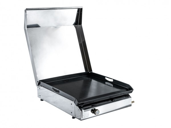 Stolni plinski roštilj s poklopcem 400x400