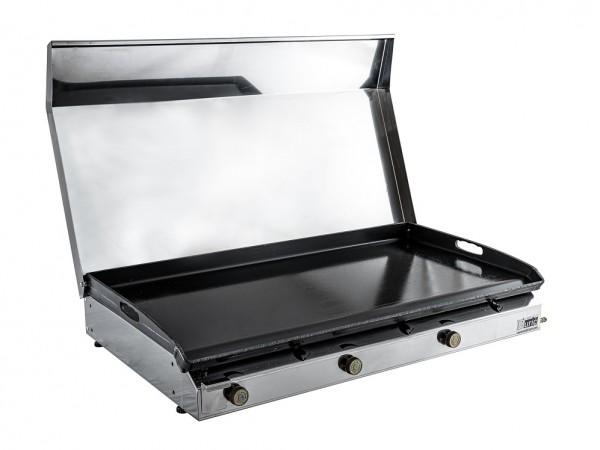 Stolni plinski roštilj s poklopcem 800x400